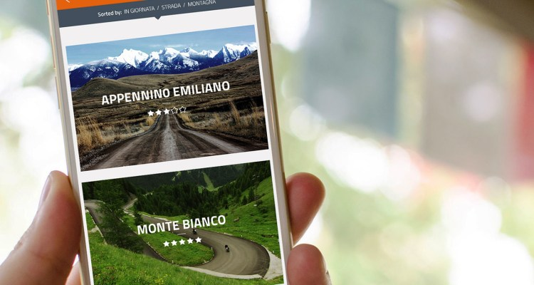 Kappa Riders, l'app per motoviaggiatori