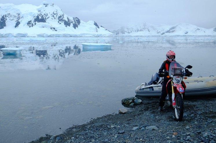 Steph Jeavons io viaggio da sola Antartide