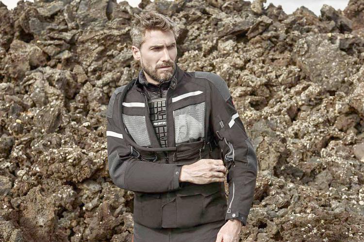 Spidi la giacca Armakore per viaggi estremi