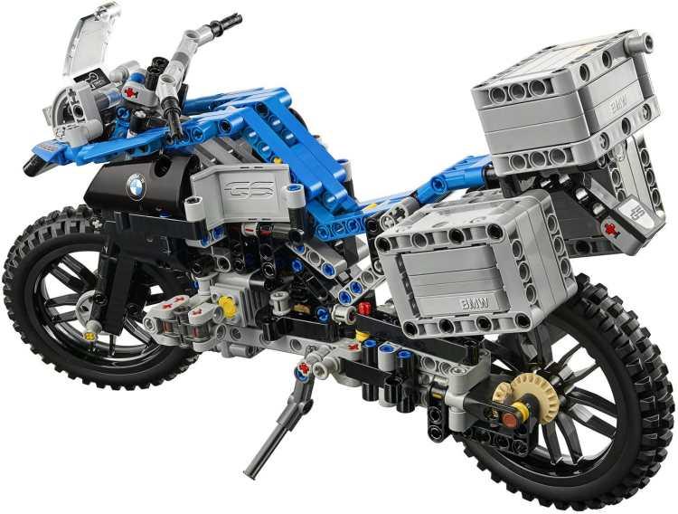 modellino Lego BMW R 1200 GS Adventure