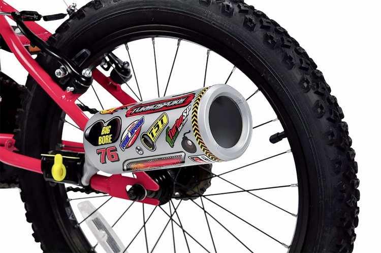 Turbospoke scarico per bici