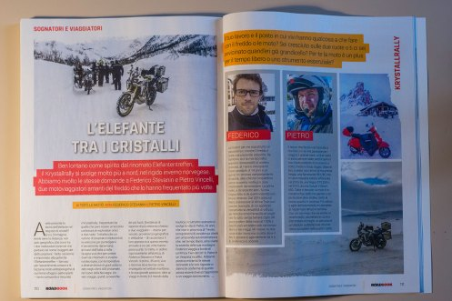 rivista RoadBook al Krystalrally
