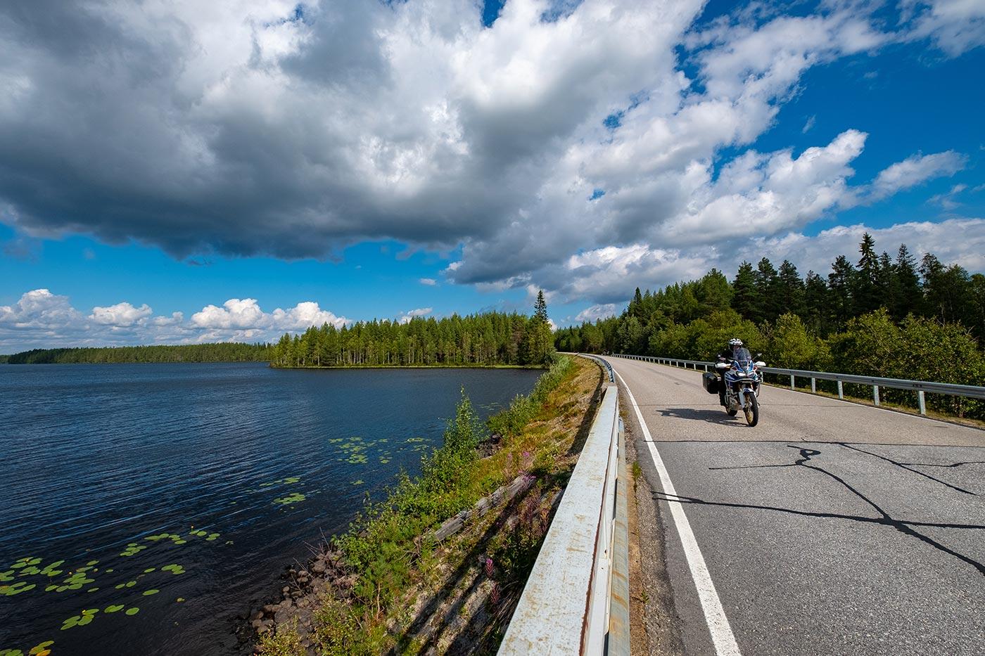 video Finlandia verso Capo Nord