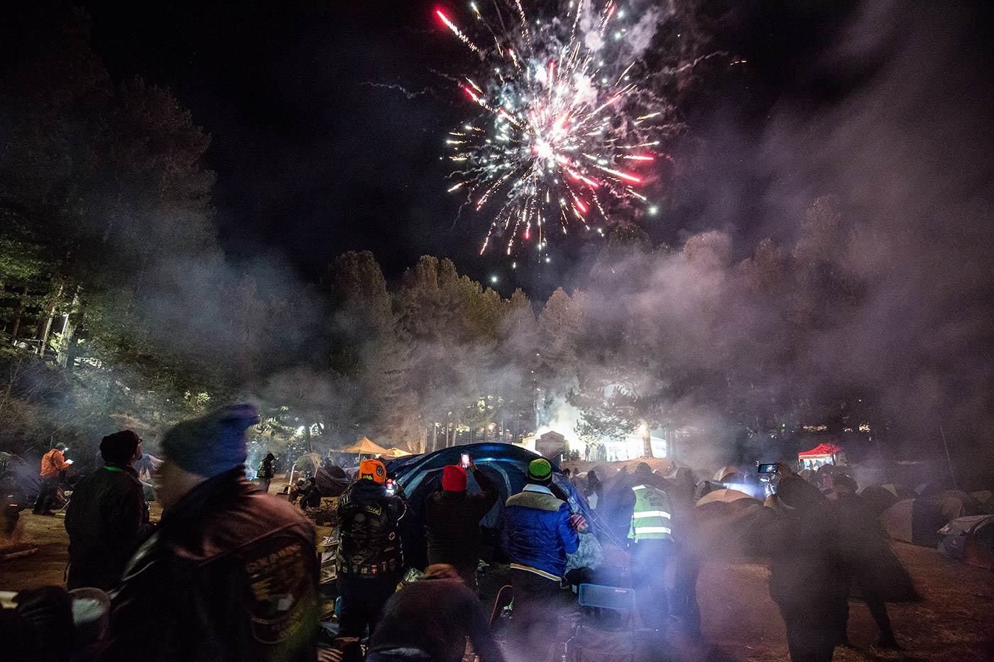 Fuochi d'artificio Silantreffen 2020
