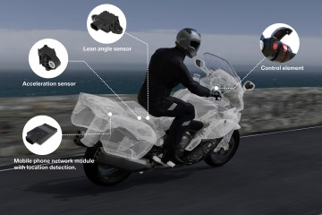 eCall di BMW Motorrad Intelligent Emergency Call