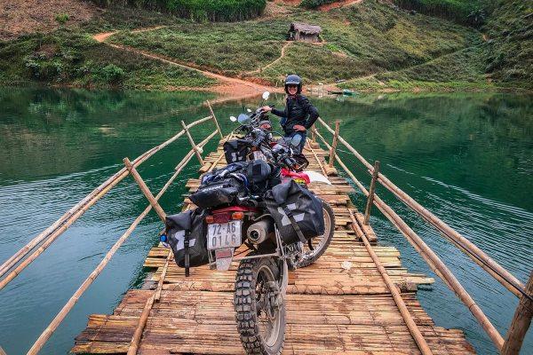 viaggio in moto in Vietnam con 250cc fly & ride