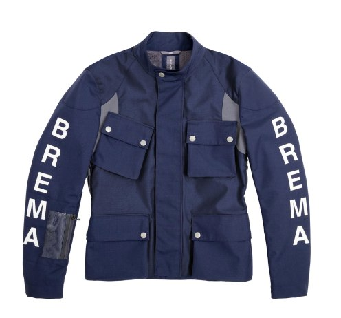 giacca blu Brema Silver Vase Adventure Sport