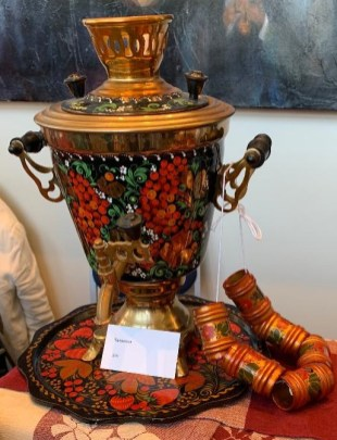 Russian Tea Samovar
