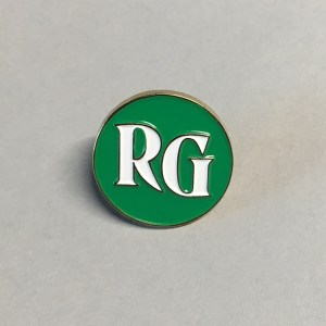Road Grays logo enamel pin