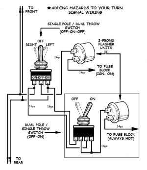 Wiring Hot Rod Turn Signals Diagram