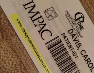 Last time having to have my bar code scanned....