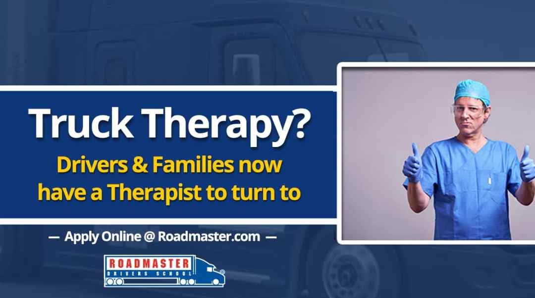 Trucker Therapy? Drivers and their families now have a therapist to turn to