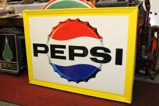 """""""Vintage Metal Signs"""" Old Pepsi sign"""