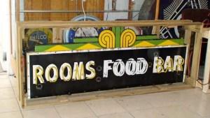 Vintage Bar sign food rooms porcelain neon, Old Unique Advertising Signs , Vintage advertising signs