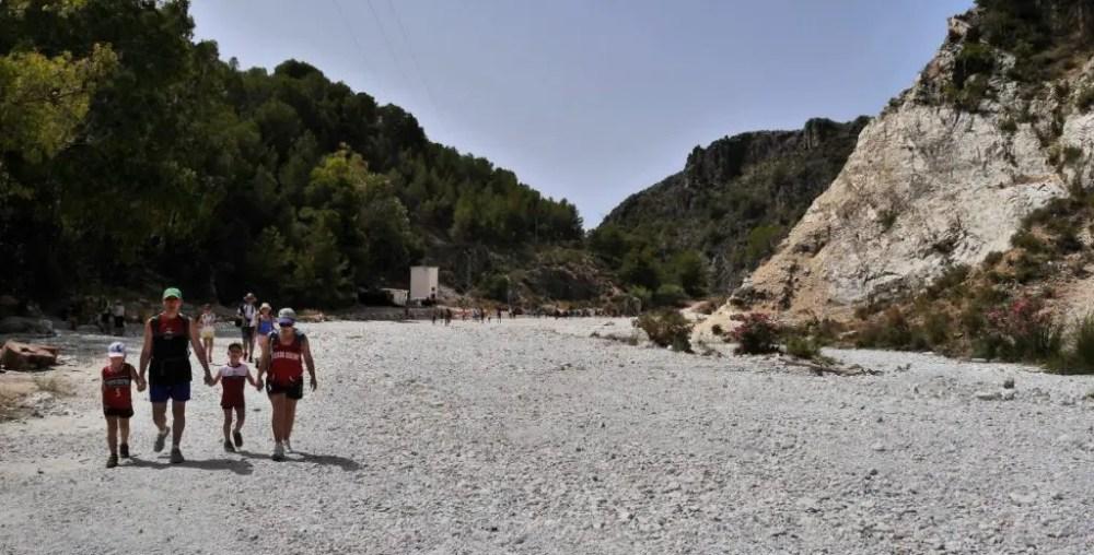 Andalusien Wandern | Die spektakuläre Rio Chillar Flusswanderung