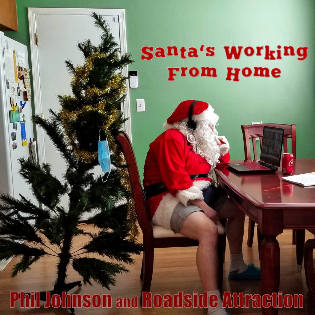 Santa's Working From Home cover