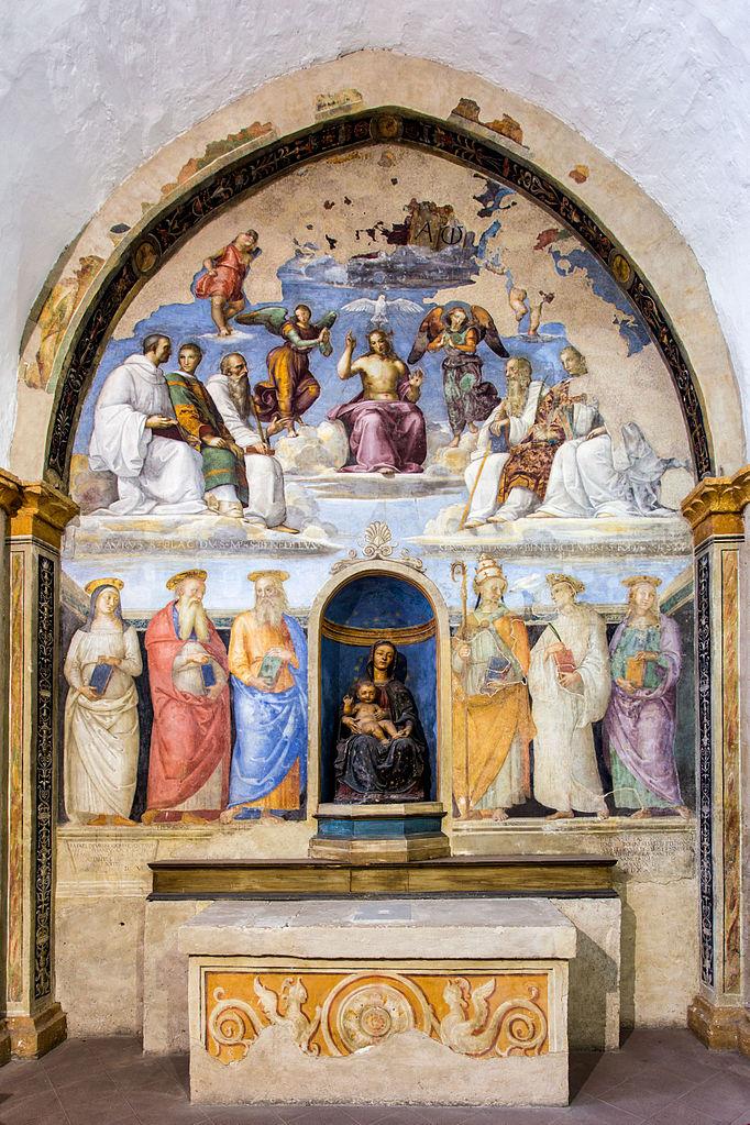 Capella San Severo Fresco
