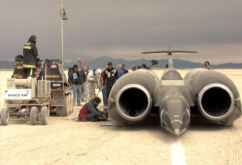 thrust ssc-techsparadise-rocket car