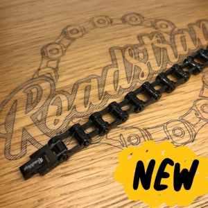 bracelet chaîne mini noir