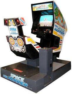 Space Harrier (Sega, 1985) Even today, seeing this cabinet in action is thrilling to me.