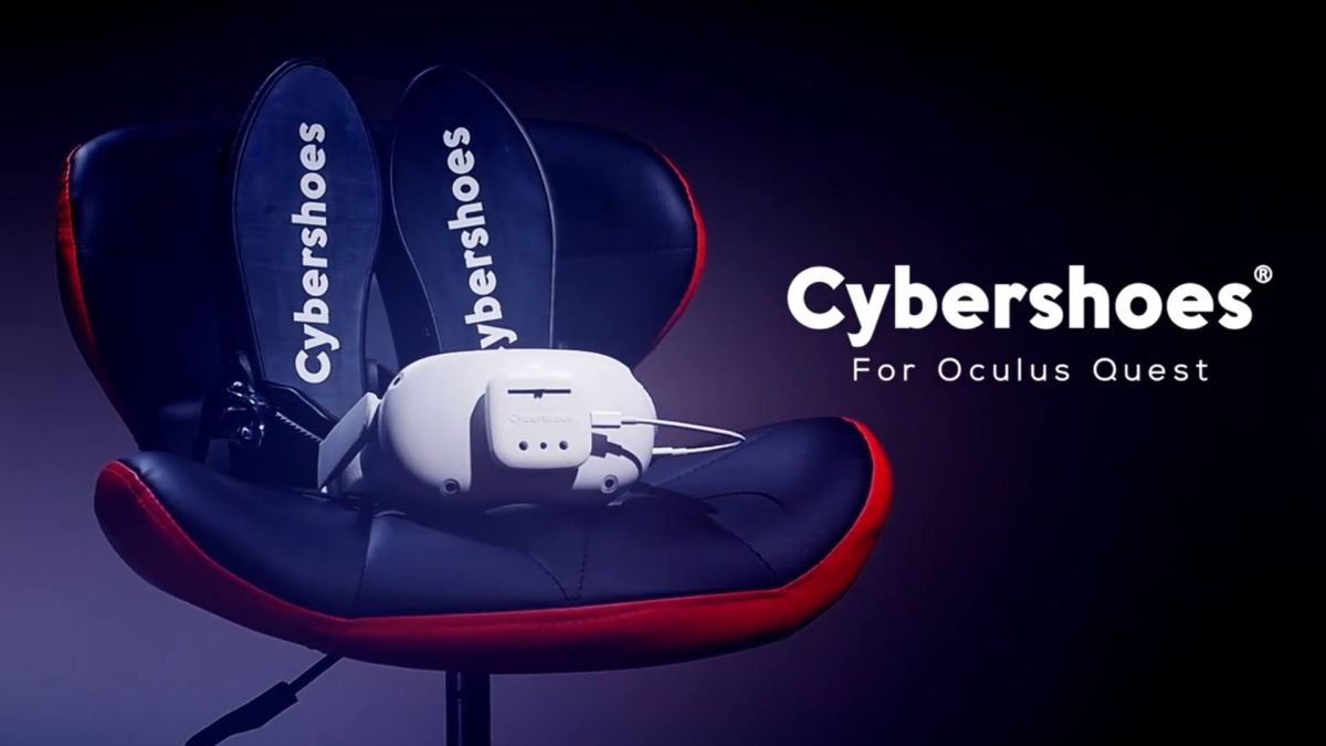 Cybershoes for Oculus Quest Now Available on Amazon US – Road to VR