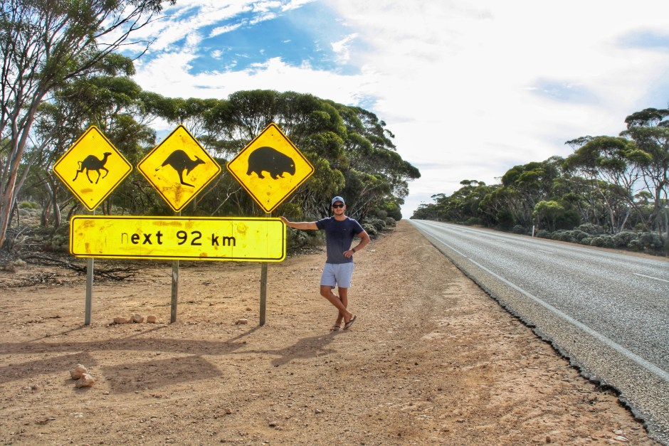 The infamous Aussie road sign