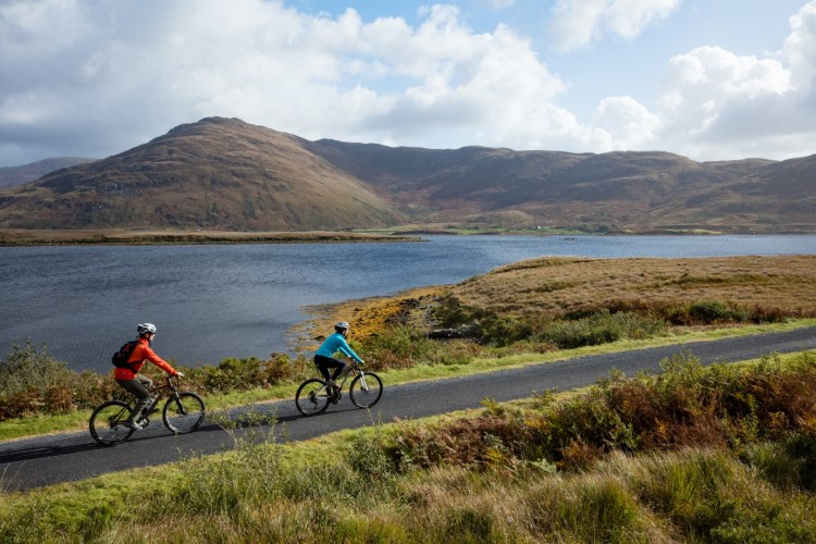 Great Western Greenway am Wild Atlantic Way