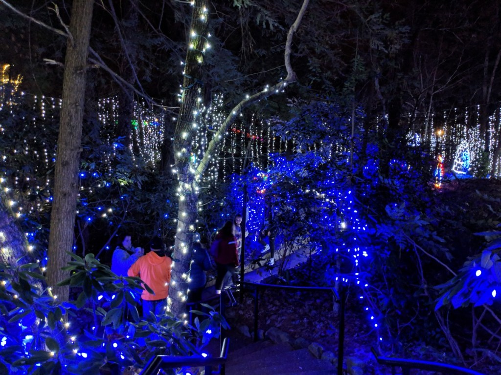 Rock city enchanted garden of lights 2018 roadtrips - Rock city enchanted garden of lights ...