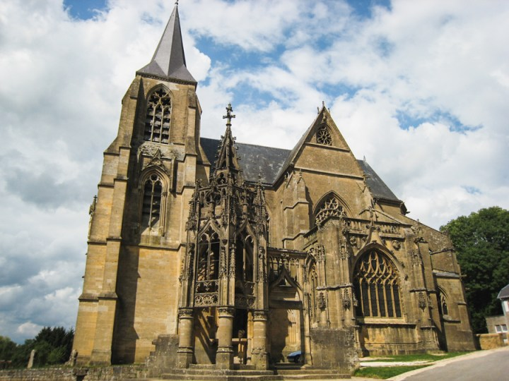 Basilic Avioth - Belgium