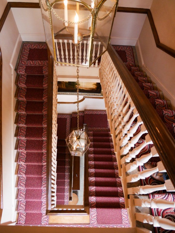 Kew-Palace-Garden-London-UK-stair