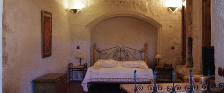 Troglodyte style hotel in Cappadocia