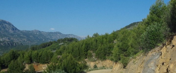 On the road to Cappadocia