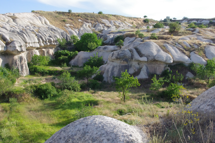 The Zemi Valley in Cappadocia, Turkey
