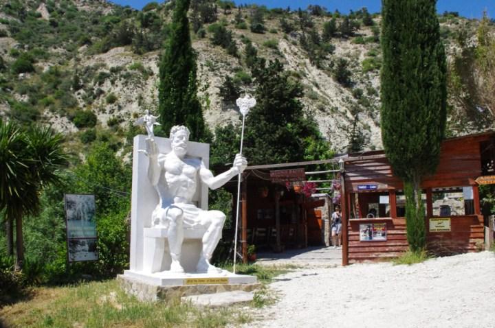 Adonis Baths - Cyprus-Zeus - entrance