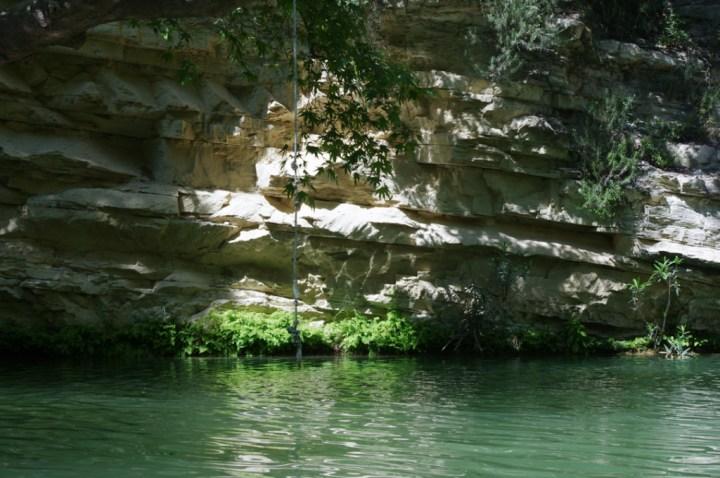 Adonis Baths - Cyprus - pool rope