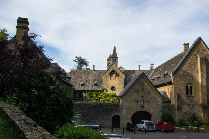 ORVAL - Belgium - Entrance view