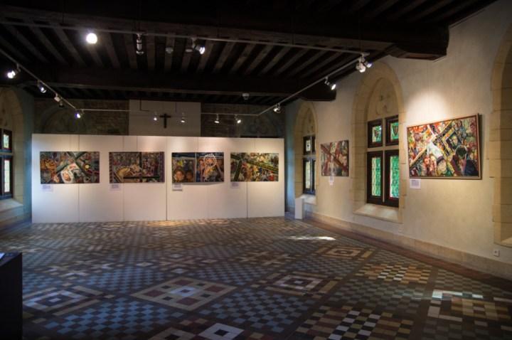 ORVAL- Belgium - art exhibition