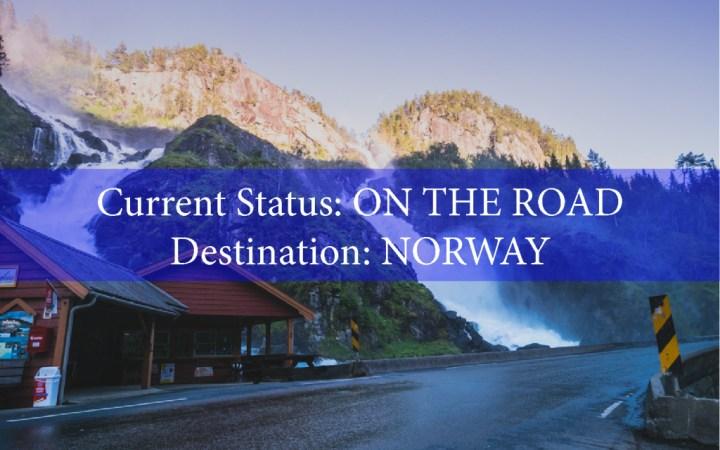 On the road - Norway - roadtripsaroundtheworld.com - Road Trips around the World