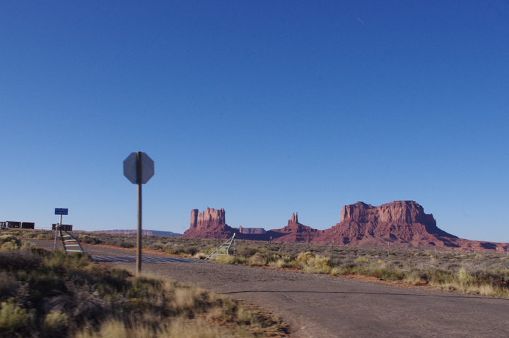 USA Road trip - road pictures - Monument valley
