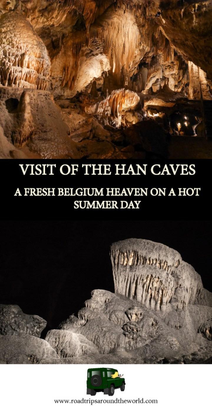 Visit of the Han Caves - Belgium - www.roadtripsaroundtheworld.com