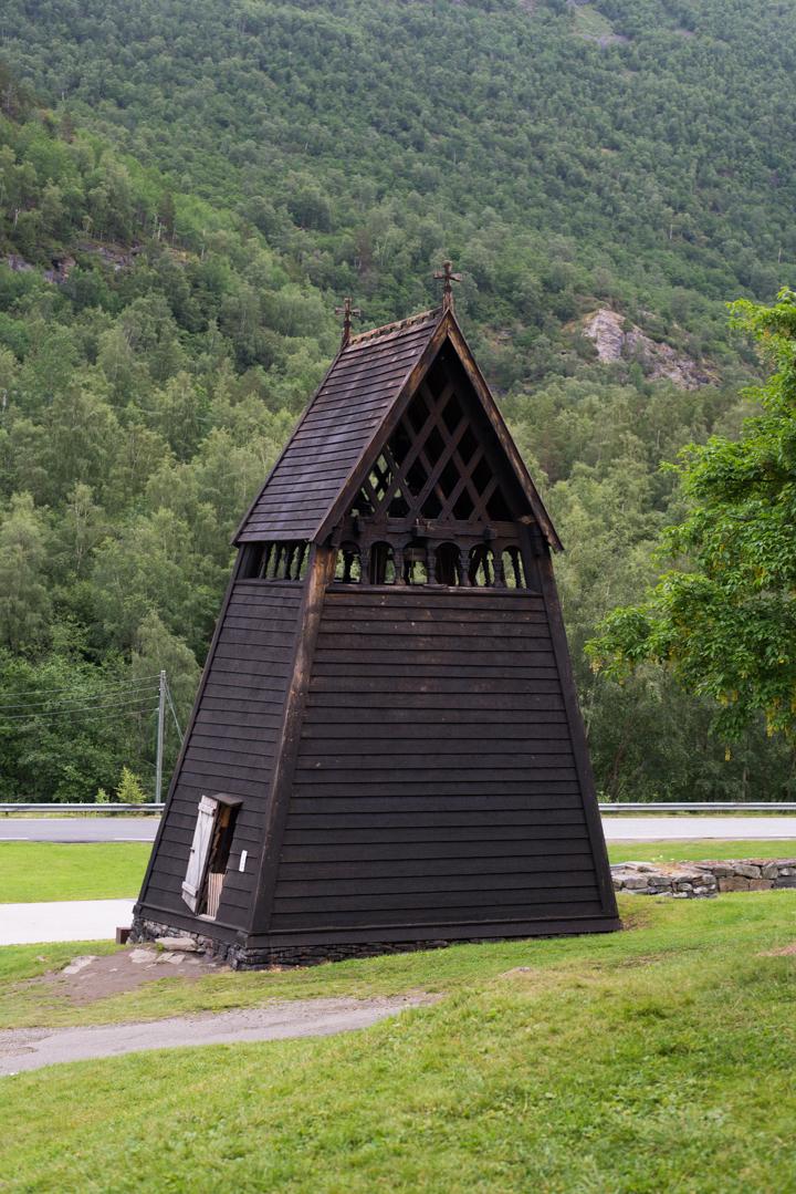 Borgund Stave Church - Norway - 13th century belfry