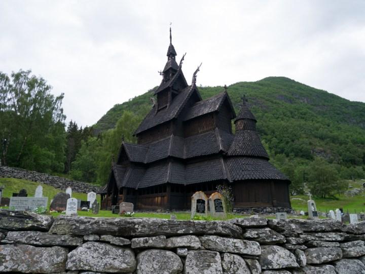 Borgund Stave Church - Norway - beautiful wood church