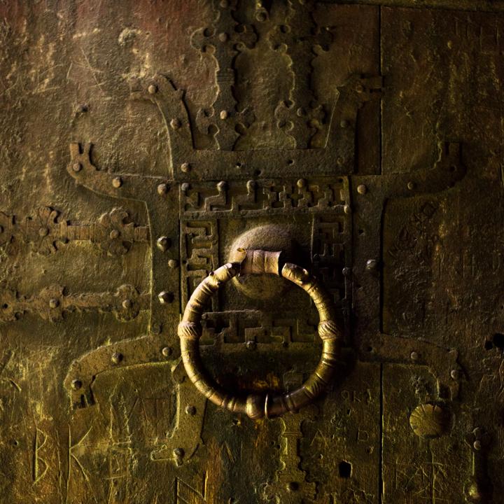 Borgund Stave Church - Norway - entrance door