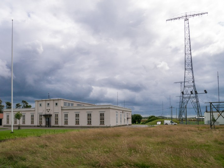 Grimeton Radio Station- Sweden - building antenna