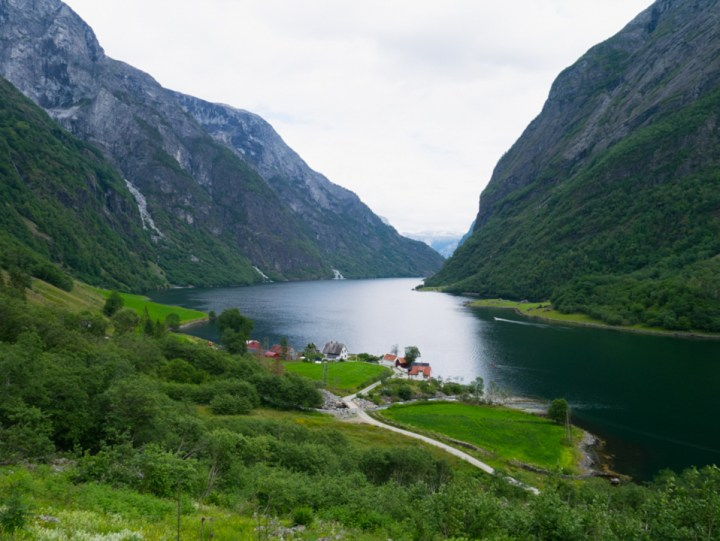 Nærøyfjord - fjord - Sweden