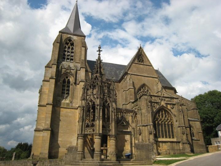 Basilique Notre Dame d'Avioth 2 - August 2010