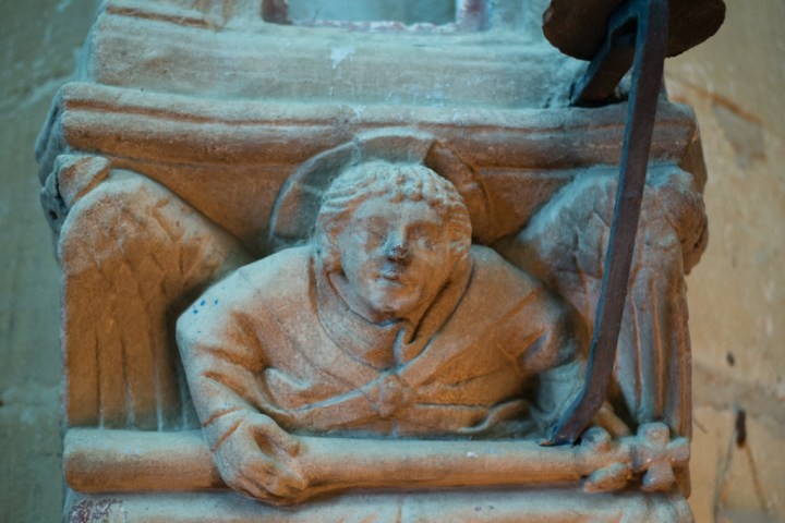 Detail comumn - Notre Dame d'Avioth - Avioth - France-25