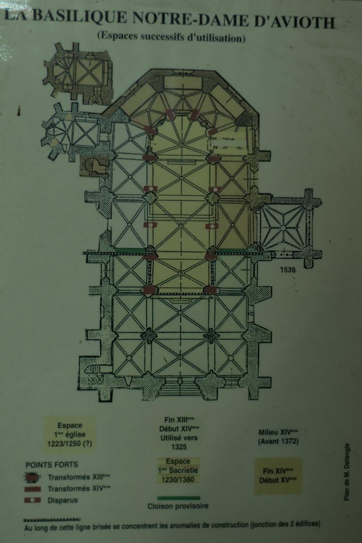 Floor plan - Notre Dame d'Avioth - Avioth - France-21