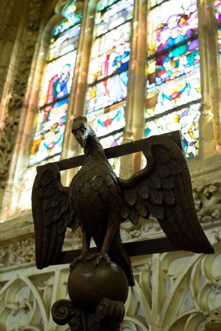 Lectern - Notre Dame d'Avioth - Avioth - France