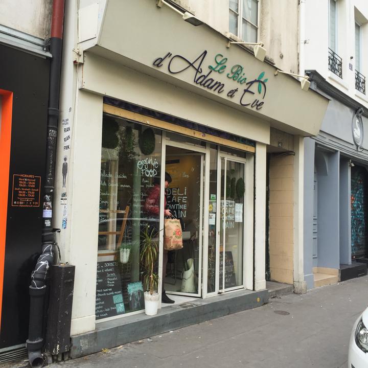 Paris - France - Le Bio d'Adame et Eve restaurant